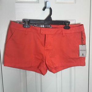NWT volcom shorts size 13